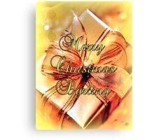 Merry Christmas Darling Canvas Print