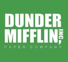 Dunder Mifflin One Piece - Short Sleeve