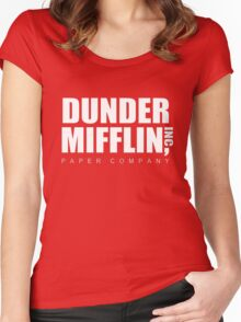 Dunder Mifflin Women's Fitted Scoop T-Shirt