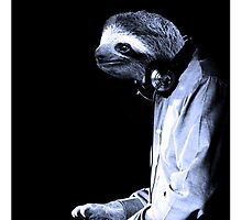 DJ Sloth by luigitarini