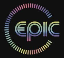 Epic Colorful  decoration Clothing & Stickers 	  by goodmusic