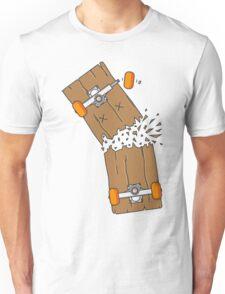 Breaking skateboard Unisex T-Shirt