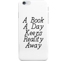 A Book A Day iPhone Case/Skin