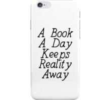 A Book A Day iPhone Case/Skin