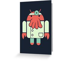Droidberg Greeting Card