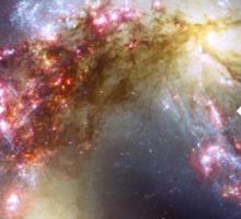 Colorful Spiral Galaxy | Mathematix by Sir Douglas Fresh Sticker