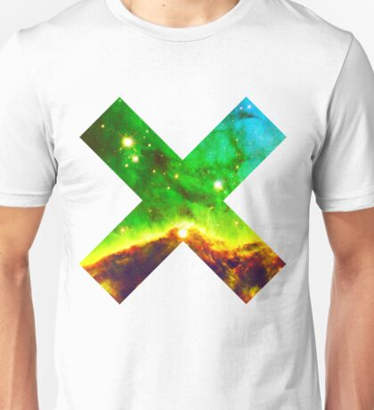 Hubble Dope Cloud Nebula Green Version | Mathematix by Sir Douglas Fresh Unisex T-Shirt
