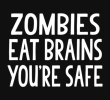Zombies Eat Brains Kids Tee