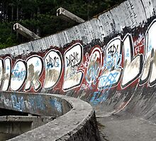 Bobsled course for the 1984 Winter Olympics, Sarajevo by Bob Ramsak