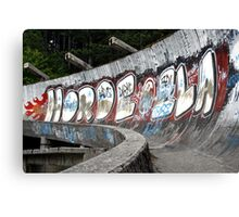 Bobsled course for the 1984 Winter Olympics, Sarajevo Canvas Print