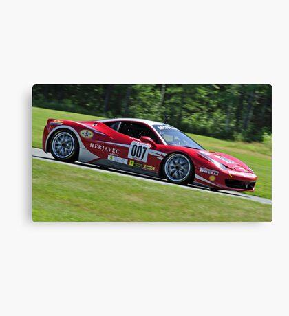 Fast Ferrari Canvas Print