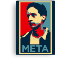 Meta Canvas Print