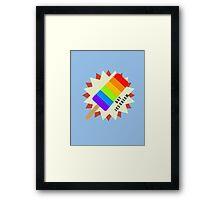 Gay Popsicle Framed Print