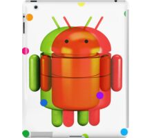 Android exploding colours iPad Case/Skin