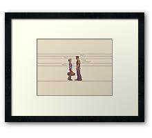 Nate and Elena Framed Print