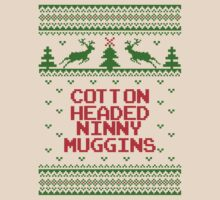 Cotton Headed Ninny Muggins Ugly Christmas Sweater by xdurango