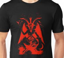 Red Baphomet Unisex T-Shirt