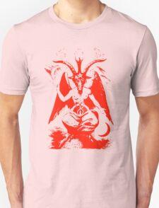 Red Baphomet T-Shirt