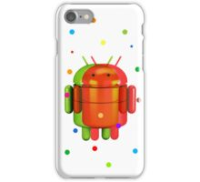 Android exploding colours iPhone Case/Skin