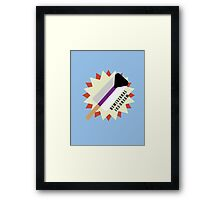 Demisexual Popsicle Framed Print