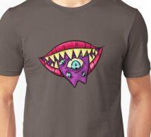 MONSTROUS MOUTH (blue eyes) Unisex T-Shirt