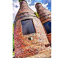 Pottery Bottle Kilns Photographic Print