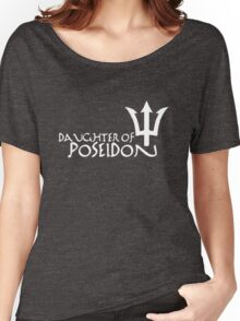 Daughter of Poseidon, in white Women's Relaxed Fit T-Shirt