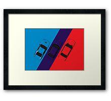 ///M Framed Print