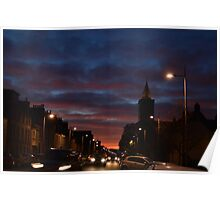 Dramatic Sky over North Street in St Andrews Poster