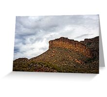 Light After Storm on Apache Trail Greeting Card