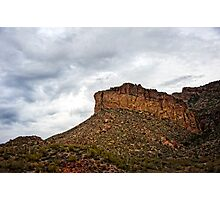 Light After Storm on Apache Trail Photographic Print
