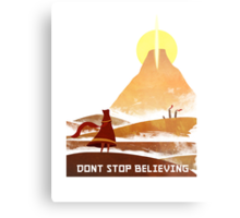 Journey - Don't Stop Believing  Metal Print