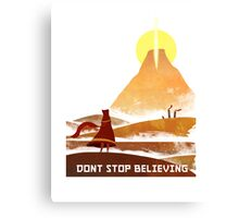 Journey - Don't Stop Believing  Canvas Print