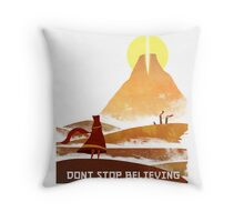 Journey - Don't Stop Believing  Throw Pillow