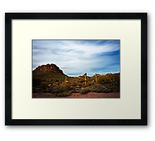 Apache Trail Red Rock Framed Print