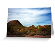 Apache Trail Red Rock Greeting Card
