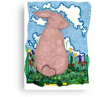 Friend Rabbit Canvas Print