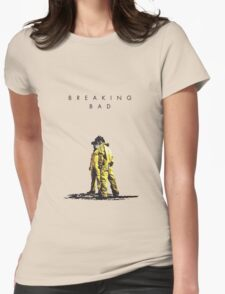 Walt and Jesse Breaking Bad 2 Womens Fitted T-Shirt