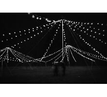 Trouble at the fairground Photographic Print