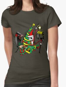 The Christmas Before Nightmare Womens Fitted T-Shirt