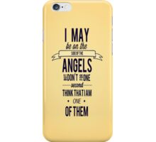 Sherlock Quote #1 iPhone Case/Skin