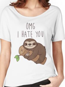 Hate Sloth Women's Relaxed Fit T-Shirt