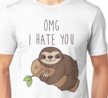 Hate Sloth Unisex T-Shirt