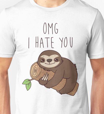 Hate Sloth Unisex T-Shirt