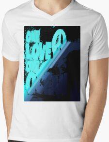 One love... Mens V-Neck T-Shirt