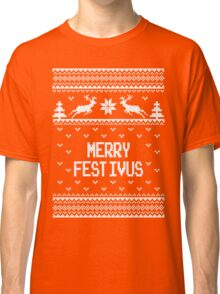 Merrry Festivus Ugly Holiday Sweater Classic T-Shirt