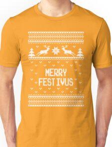 Merrry Festivus Ugly Holiday Sweater Unisex T-Shirt