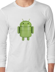 Green android robot Long Sleeve T-Shirt