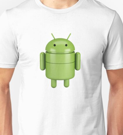 Green android robot Unisex T-Shirt
