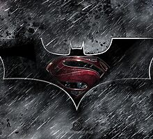 Batman Superman - Dark Knight of Steel  by EdUnderground